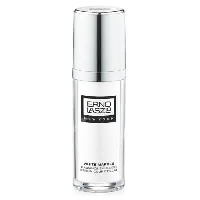 Erno Laszlo White Marble Radiance Emulsion Emulsja rozświetlająca z komórkami macierzystymi i wit. B3, 30 ml