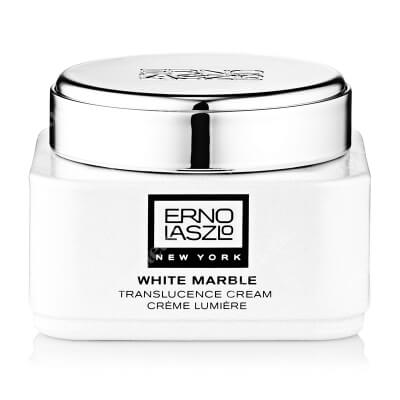 Erno Laszlo White Marble Translucence Cream Rozświetlający krem do twarzy z wit. B3, wyciągiem z dzikiej śliwki 50 ml