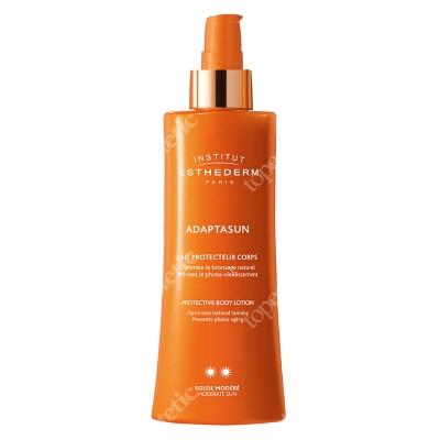 Esthederm Adaptasun Body Lotion (Normal Sun) Mleczko ochronne do ciała dla skóry normalnej przyspieszające opalanie 200 ml