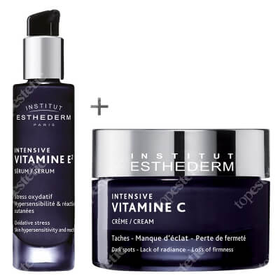 Esthederm Intensive Vitamine Set ZESTAW Serum z witaminą E2, 30 ml + Krem z witaminą C 50 ml