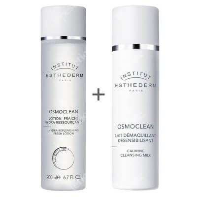 Esthederm Osmoclean Skin Set ZESTAW Mleczko do skóry wrażliwej 200 ml + Nawilżający tonik 200 ml