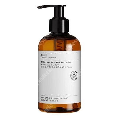 Evolve Organic Citrus Blend Aromatic Wash Aromatyczne mydło do ciała 250 ml