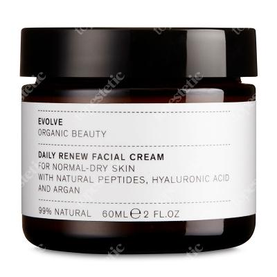 Evolve Organic Daily Renew Facial Cream Regenerujący krem do twarzy na dzień 60 ml