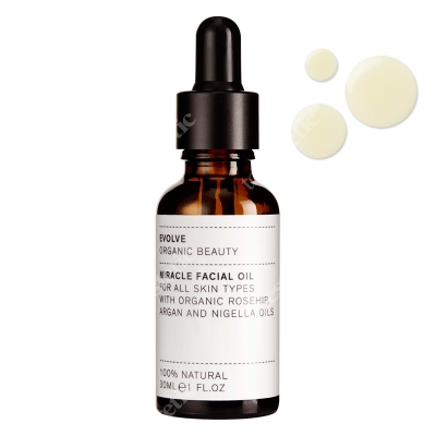 Evolve Organic Miracle Facial Oil Olejek do twarzy 30 ml