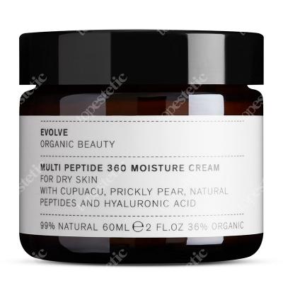 Evolve Organic Multi Peptide 360 Moisture Cream Odżywczy krem odmładzający 60 ml