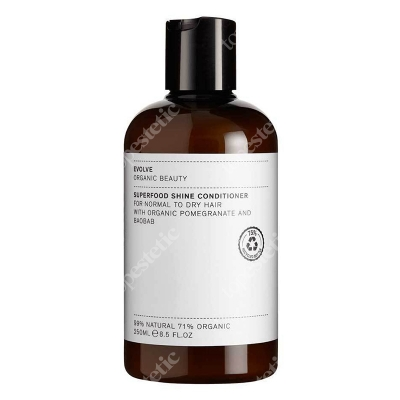 Evolve Organic Superfood Shine Conditioner Odżywka do włosów 250 ml