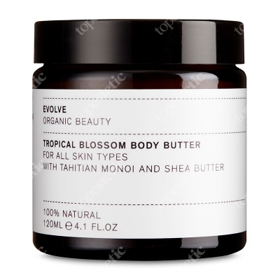 Evolve Organic Tropical Blossom Body Butter Masło do ciała 120 ml