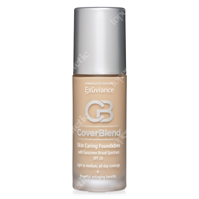 Exuviance Cover Blend Anti-aging SPF 20 Podkład przeciwstarzeniowy - kolor Natural Beige 30 ml
