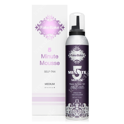 Fake Bake 5 Minute Mousse - Medium Pianka opalająca 207 ml