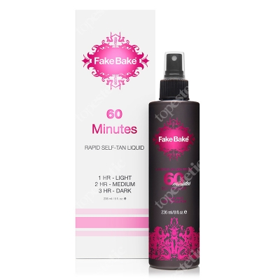 Fake Bake 60 minutes Rapid Self Tan Liquid Płyn opalający 236 ml