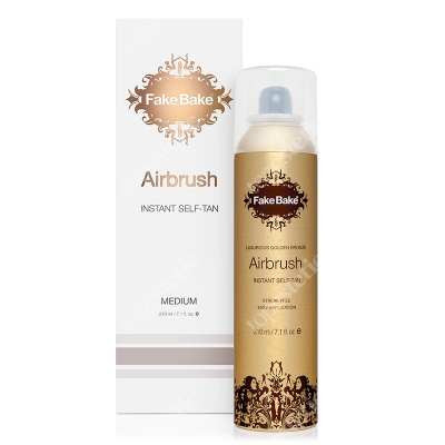Fake Bake Airbrush Instant Self Tan - Medium Spray opalający 210 ml