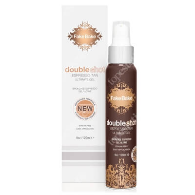 Fake Bake Double Shot Espresso Tan Żel opalający 120 ml
