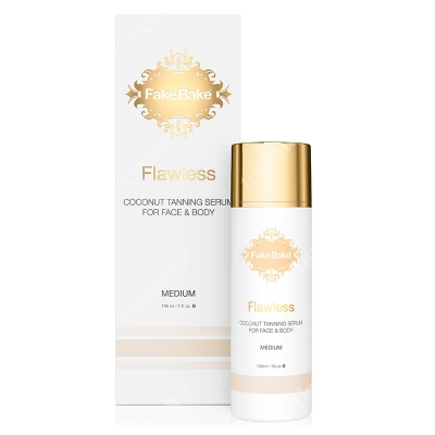 Fake Bake Flawless Coconut Tanning Serum - Medium Kokosowe serum opalające do twarzy i ciała 148 ml