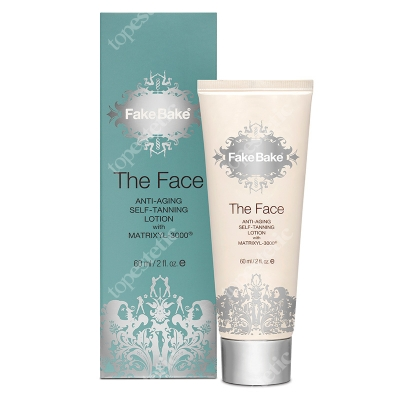 Fake Bake The Face Anti Ageing Lotion Krem opalający do twarzy 60 ml