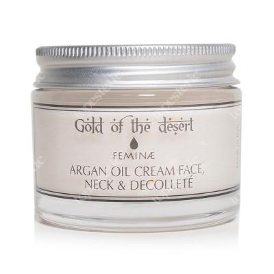 Feminae Argan Oil Cream Face Neck & Decollete Krem na twarz, szyjęi dekolt z olejem arganowym 50 ml