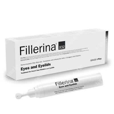 Fillerina Eyes and Eyelids Grade 4+ Wypełniacz dermokosmetyczny do konturu oczu i powiek (stopień 4+) 15 ml