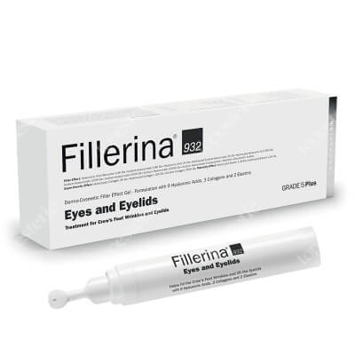 Fillerina Eyes and Eyelids Grade 5+ Wypełniacz dermokosmetyczny do konturu oczu i powiek (stopień 5+) 15 ml