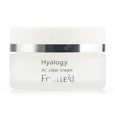 Forlled Hyalogy AC Clear Cream Delikatny krem do skóry tłustej i mieszanej ze skłonnością do wyprysków 50 g