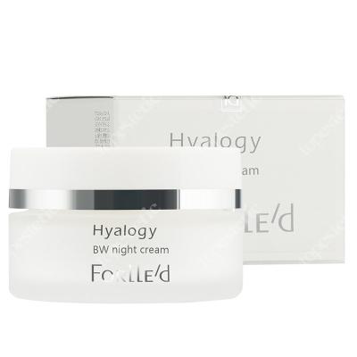Forlled Hyalogy BW Night Cream Rozjaśniający krem przeciwstarzeniowy na noc 50 ml