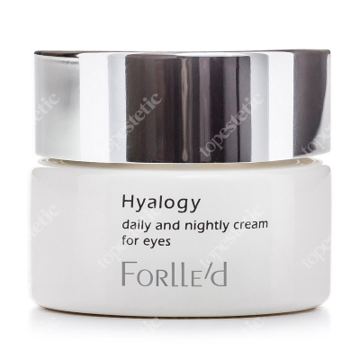 Forlled Hyalogy Daily and Nightly Cream for Eyes Odmładzający krem na okolice oczu 20 g