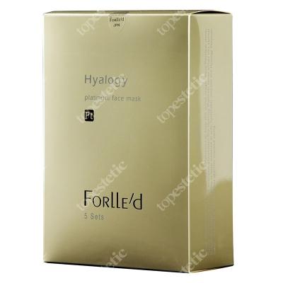 Forlled Hyalogy Platinum Face Mask Maska antyoksydacyjna na bazie platyny 5 szt.