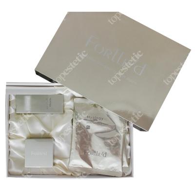 Forlled Platinium Skin Care Set ZESTAW Platynowy krem do twarzy 50 g + Platynowy krem na okolice oczu 9 g + Maska antyoksydacyjna 2 szt