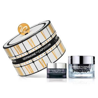 Germaine de Capuccini Golden Hours T SRNS Pro 60 + ZESTAW Krem kontur oczu na dzień 15 ml + Krem intensywnie odżywczy dla skóry bardzo suchej 50 ml