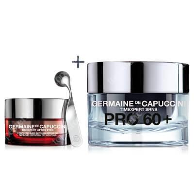 Germaine de Capuccini Hello Spring Timexpert SRNS I ZESTAW Krem kontur oczu 15 ml + Krem intensywnie odżywczy dla skóry bardzo suchej 50 ml