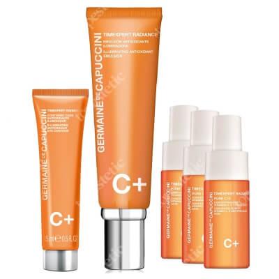 Germaine de Capuccini Timexpert Radiance C+ Launch Promo I ZESTAW Rewitalizująca emulsja do twarzy 50 ml + Rewitalizujący krem kontur oczu (tuba) 15 ml + Serum 3 x 10 ml
