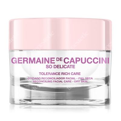 Germaine de Capuccini Tolerance Rich Reconciling Facial Care Krem łagodząco-odbudowujący 50 ml