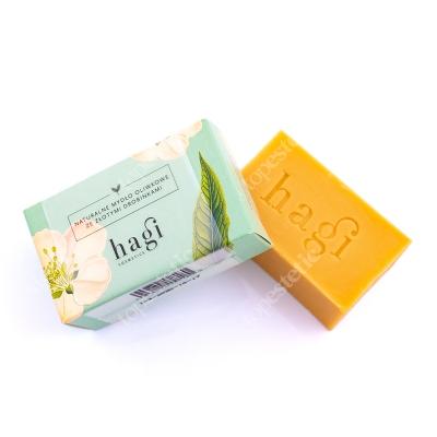 Hagi Naturalne Mydło Oliwkowe Ze Złotymi Drobinkami Mydło do skóry normalnej 100 g
