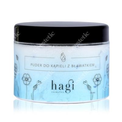 Hagi Puder do Kąpieli z Bławatkiem Naturalny puder do kąpieli z masłem shea 400 g