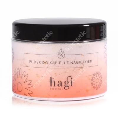 Hagi Puder do Kąpieli z Nagietkiem Naturalny puder do kąpieli z olejkiem pomarańczowym 400 g