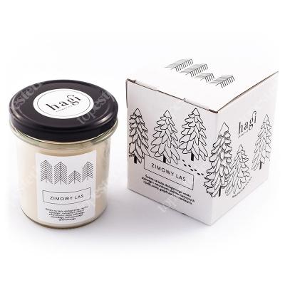 Hagi Świeca Sojowa - Zimowy Las Świeca na bazie ekologicznego wosku sojowego - Zimowy Las 230 g