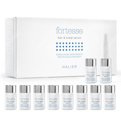 Halier Fortesse Hair & Scalp Serum Serum do włosów dla kobiet 10 ampułek