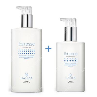 Halier Fortesse Shampoo + Conditioner Women ZESTAW Szampon 250 ml + Odżywka 150 ml