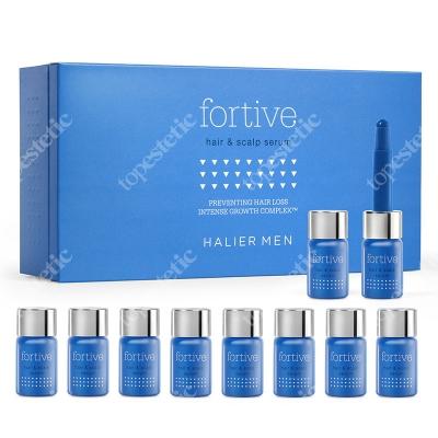 Halier Fortive Hair & Scalp Serum Serum do włosów dla mężczyzn 10 ampułek