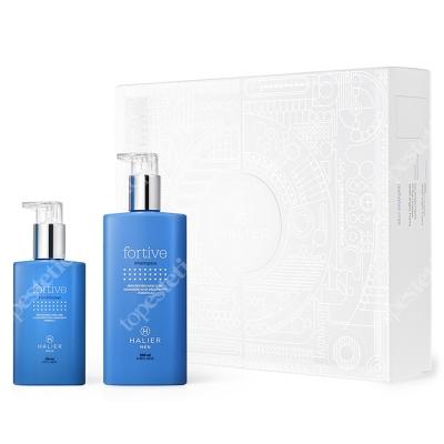 Halier Fortive Shampoo + Conditioner Men ZESTAW Szampon 250 ml + Odżywka 150 ml