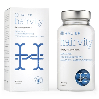 Halier Hairvity Dietary Supplement Women Suplement diety do włosów 60 kaps.