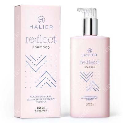 Halier Re:flect Shampoo Szampon przywracający blask i zdrowy wygląd włosom farbowanym 250 ml