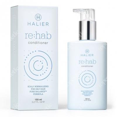 Halier Re:hab Conditioner Odżywka przywracającą zdrowy stan skóry głowy i włosów skłonnych do przetłuszczania się 150 ml