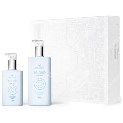Halier Re:hab Conditioner + Re:hab Shampoo ZESTAW Odżywka 150 ml + Szampon 250 ml