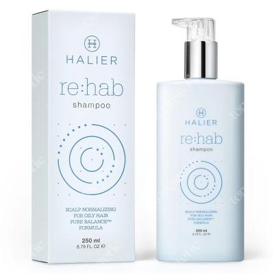 Halier Re:hab Shampoo Szampon normalizujący do włosów przetłuszczających się 250 ml