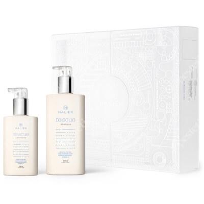 Halier Re:scue Conditioner + Re:scue Shampoo ZESTAW Odżywka 150 ml + Szampon do włosów suchych i zniszczonych 250 ml