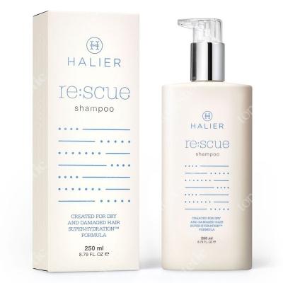 Halier Re:scue Shampoo Odbudowujący szampon do włosów suchych i zniszczonych 250 ml