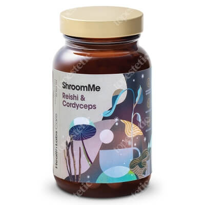 Health Labs Care ShroomMe Reishi and Cordyceps Skoncentrowany ekstrakt z Cordycepsu i Reishi 90 miarek