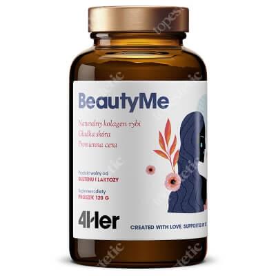 HealthLabs BeautyMe Zastrzyk kolagenu, bez użycia igieł 120 g