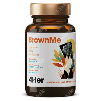 HealthLabs BrownMe Piękna opalenizna, odżywiona skóra 30 kaps.