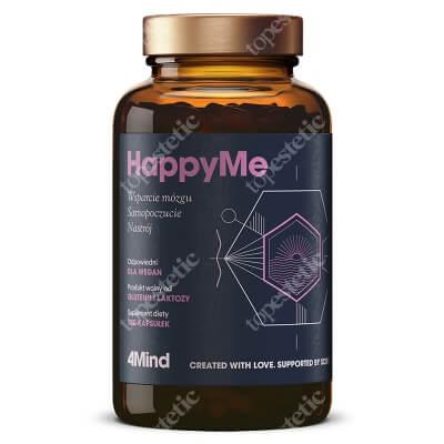 HealthLabs HappyMe Poprawa nastroju, usprawnienie pracy mózgu 120 kaps.