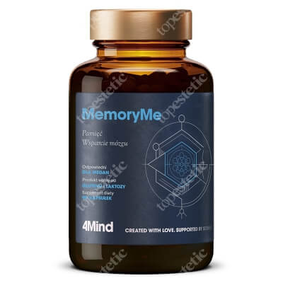 HealthLabs MemoryMe Poprawia pamięći koncentrację 90 kaps.
